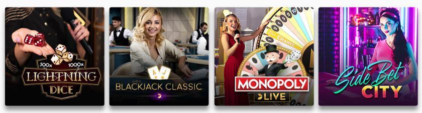 Cresus Casino jeux casino
