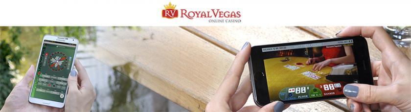 Royal Vegas Canada banner