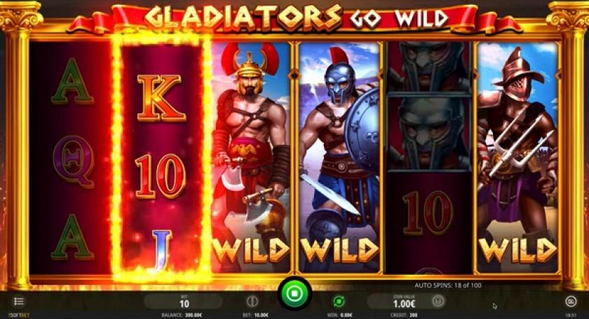 machine a sous isoftbet gladiator go wild